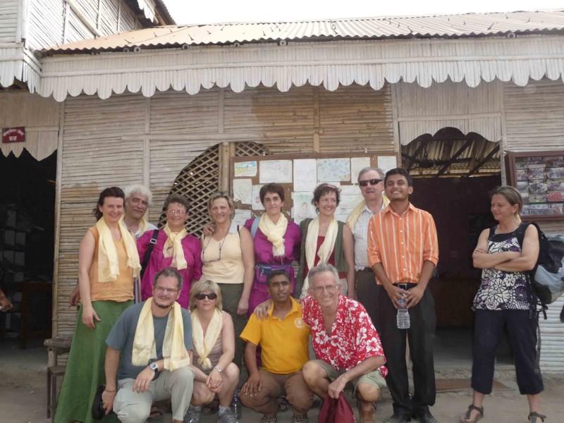 Foto gruppo in Nepal